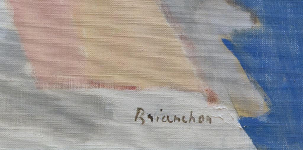 Brianchon, Maurice: Signatur