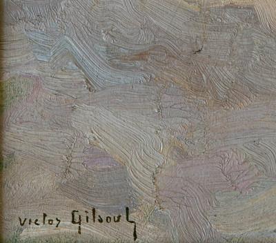 Gilsoul, Victor Olivier: Signatur
