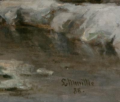 Munthe, Ludwig: Signatur