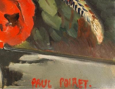 Poiret, Paul: Signatur