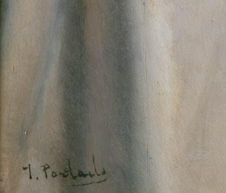 Portaels, Jean François: Signatur
