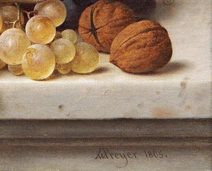 Preyer, Johann Wilhelm: Signatur