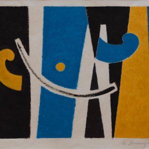 Davringhausen, Heinrich Maria: Ohne Titel, 1956