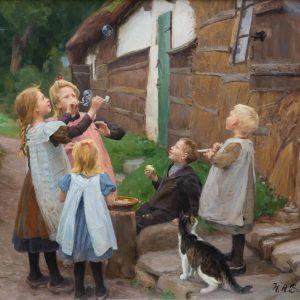 Brendekilde, Hans Andersen: Seifenblasen