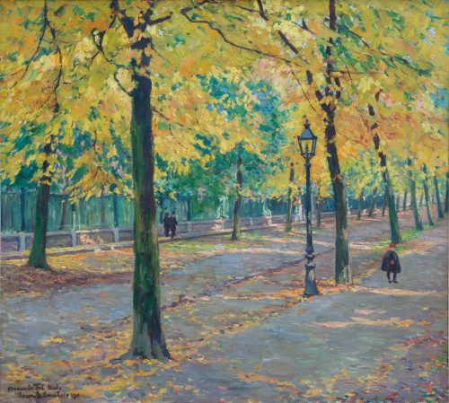 Louis-Gustave Cambier: Herbstsonne, 1911