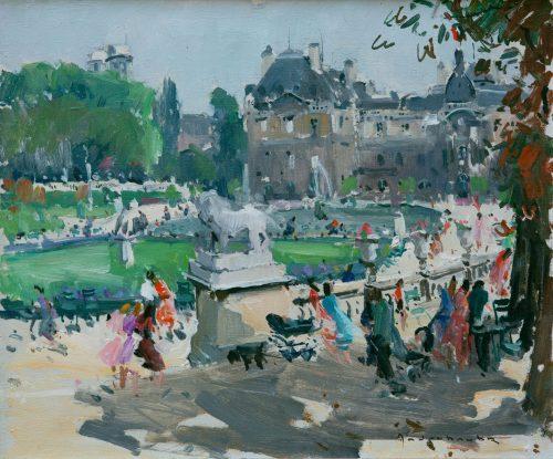 Jean-Paul Anderbouhr: Jardin du Luxembourg