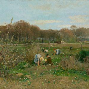 Hugo Mühlig: Blumenwiese