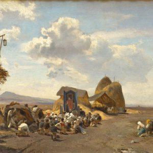 Achenbach, Oswald: In der Römischen Campagna, 1862