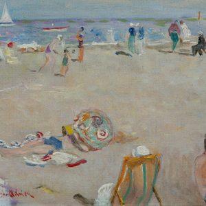 Lucien Adrion: Am Strand