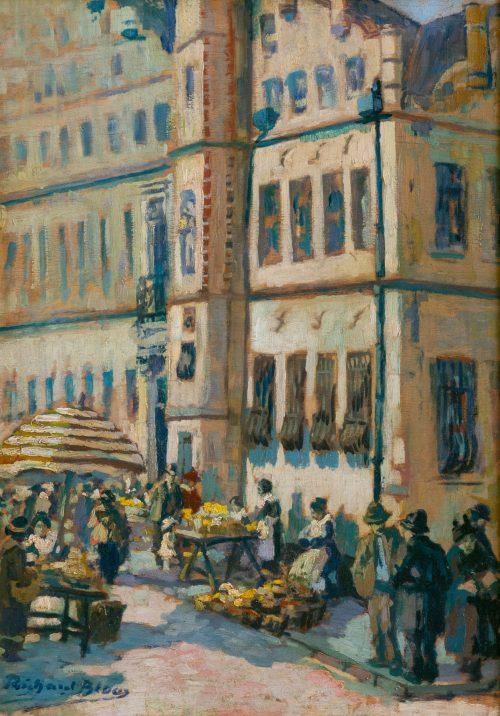 Richard Bloos: Am alten Markt