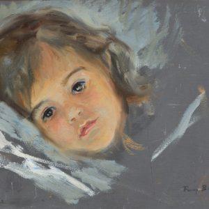 Brate, Fanny: Porträt der Enkelin