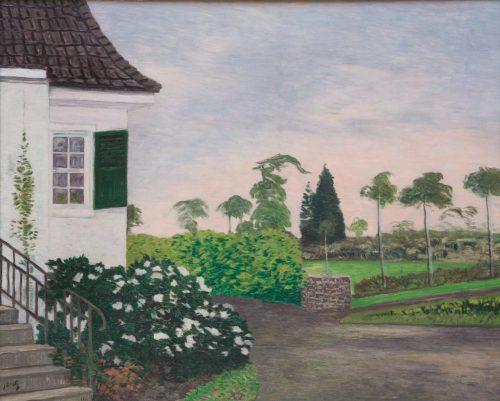 Bretz, Julius: Haus und Garten in Ludendorff