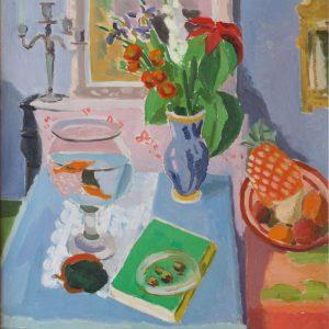 Cavaillès, Jules: Blauer Salon, 1938
