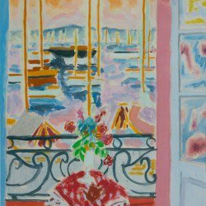 Cavaillès, Jules: Blick auf den Hafen von Cannes