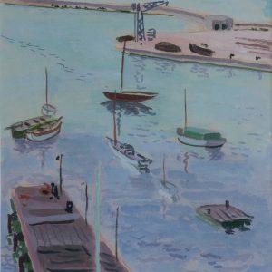 Cavaillès, Jules: Hafen von Saint Tropez