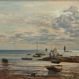 Max Clarenbach: Nordseelandschaft