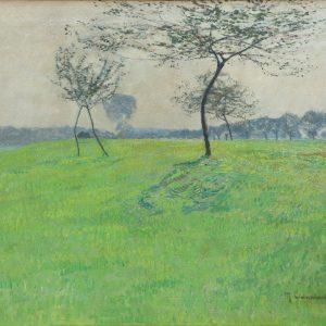 Max Clarenbach: Spring meadow
