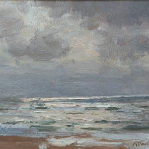 Max Clarenbach: North Sea, c. 1900