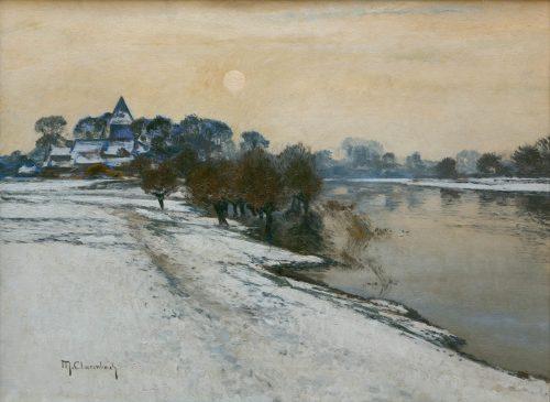 Clarenbach, Max: Wintersonne am Niederrhein