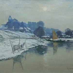 Max Clarenbach: Winter sun