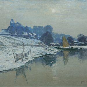 Clarenbach, Max: Winter sun