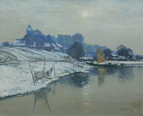 Clarenbach, Max: Wintersonne
