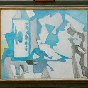 Edelmann, Jean: Composition bleu, 1974