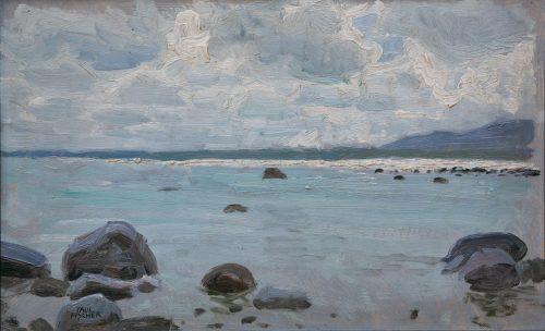 Fischer, Paul: Küstenlandschaft