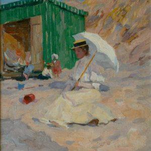 Gilsoul, Victor Olivier: Strandvergnügen