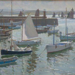 Arthur Hayward: Hafen von St. Ives, um 1930