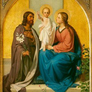 Ittenbach, Franz: Heilige Familie, 1865