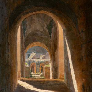 Jespersen, Henrik: Blick ins Colosseum, 1897