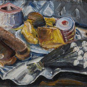 Kleinschmidt, Paul: Gebäcke und Maiglöckchen, 1932