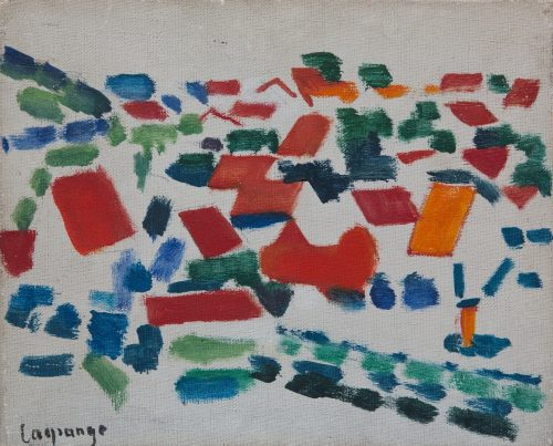 Lagrange, Jacques: Rote Dächer, 1953