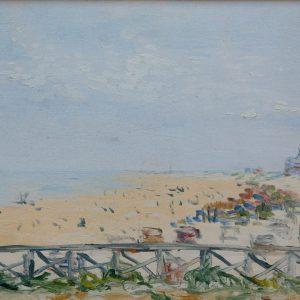 Lemonnier, Robert: The beach of Berck, 1906