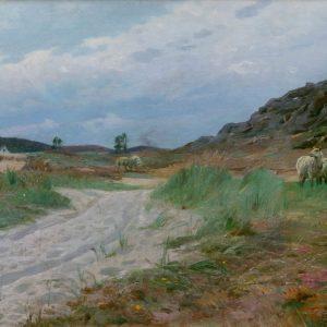 Peder Mönsted: In den Dünen, 1921