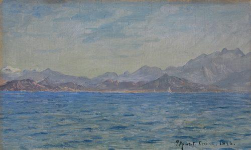 Peder Mönsted: Küste bei Korsika, 1893
