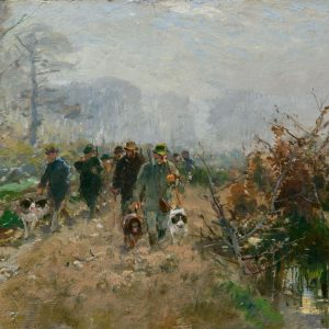 Hugo Mühlig: Herbstjagd