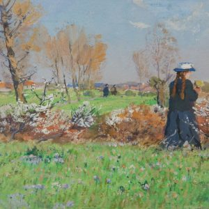 Mühlig, Hugo: Frühling