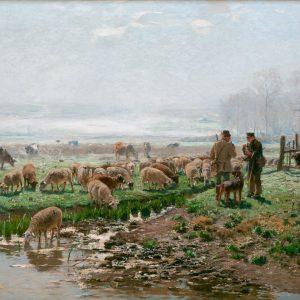 Hugo Mühlig: Der Plausch am Morgen