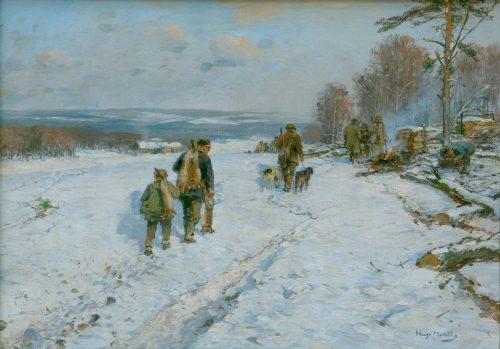 Mühlig, Hugo: Winterjagd