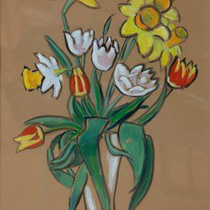 Münter, Gabriele: Blumenstrauss, 1955