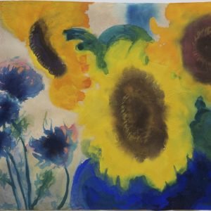 Nolde, Emil: Sunflowers