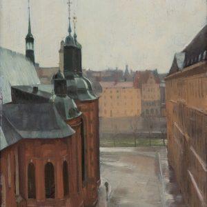 Oscarsson, Bernhard: Altstadt von Stockholm, 1924