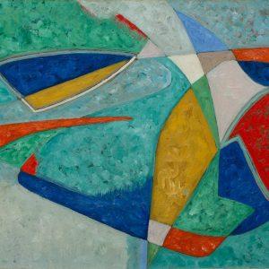 Pichette, James: Composition, um 1950