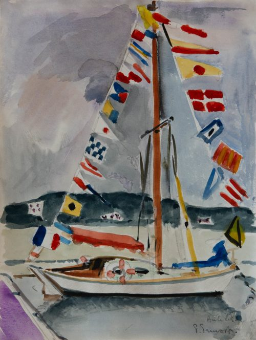 Pruvost, Pierre: Antibes. Das Segelboot