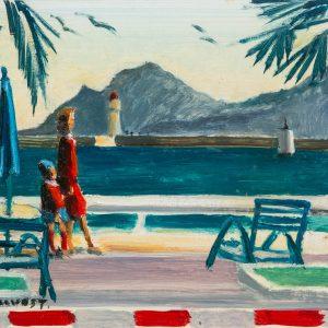 Pruvost, Pierre: Cannes. Die Croisette und das Esterel-Massiv
