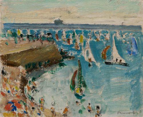 Pruvost, Pierre: Regattas off Antibes
