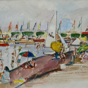 Pruvost, Pierre: Antibes in summer