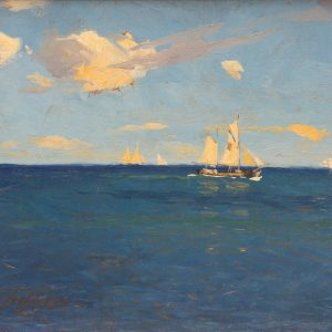 Quistorff, Victor: Sailing ships in clear weather